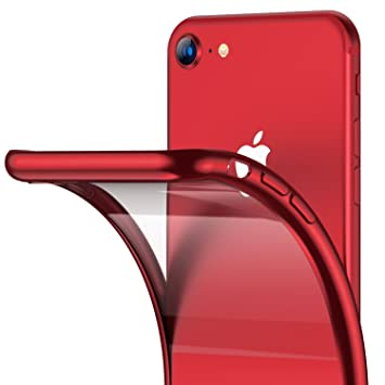 Funda iPhone 8, funda para iPhone 7 RANVOO Funda ultra delgada Slim-Fit protectora Transparente y transparente TPU Funda para teléfono con gel de ...