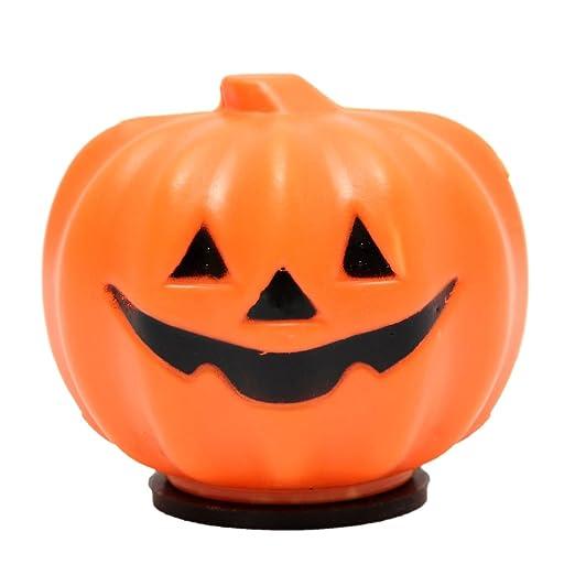 Solmore Halloween Lamp LED Pumpkin Lantern Props Carnival Party Night Light Decor