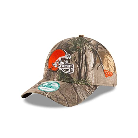 sale retailer 88135 293ad Amazon.com   New Era Cleveland Browns The League Realtree Camo 9FORTY  Adjustable Hat Cap   Sports   Outdoors