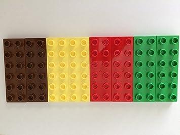 4 x Lego Steine Platten 6 x 6 grün NEU LEGO Bausteine & Bauzubehör