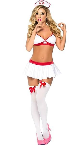 Amazon.com: M _ _ _ _ _ _ _ _ _ _ Eshop Mujer Sexy enfermera ...
