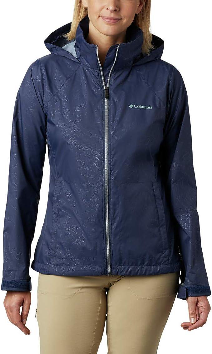 Columbia 哥伦比亚 Switchback Iii Printed 防水轻便可压缩 户外女式夹克 XS码2.8折$20.99 海淘转运到手约¥178