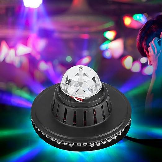 Proyector Disco 51 LED proyector luz Juego de luz DJ Lámpara de ...