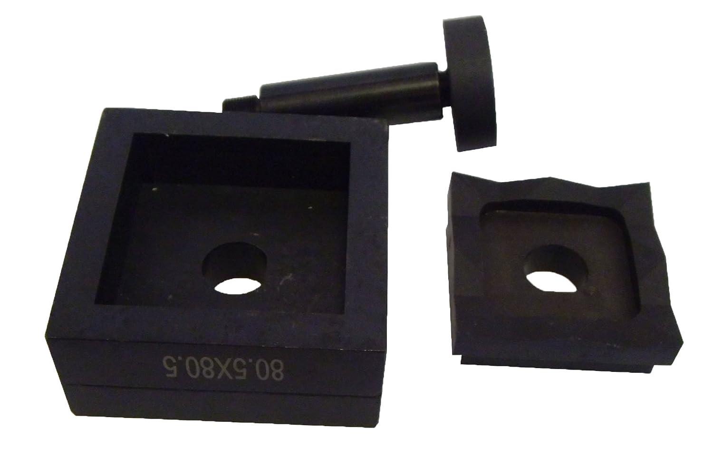 Hole Punch Knockout Die 3 1//8 x 3 1//8 D-SET-80 80.5 x 80.5 mm