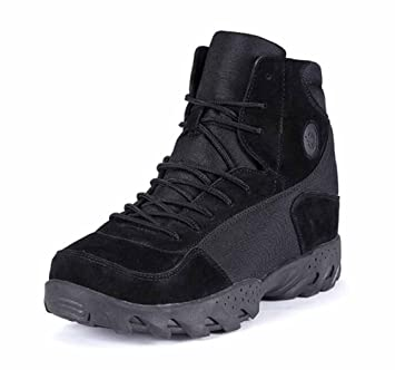 Men Trainers Breathable Climbing Boot Suede Low Rise Walking Boots Anti-puncture Tactical Boots
