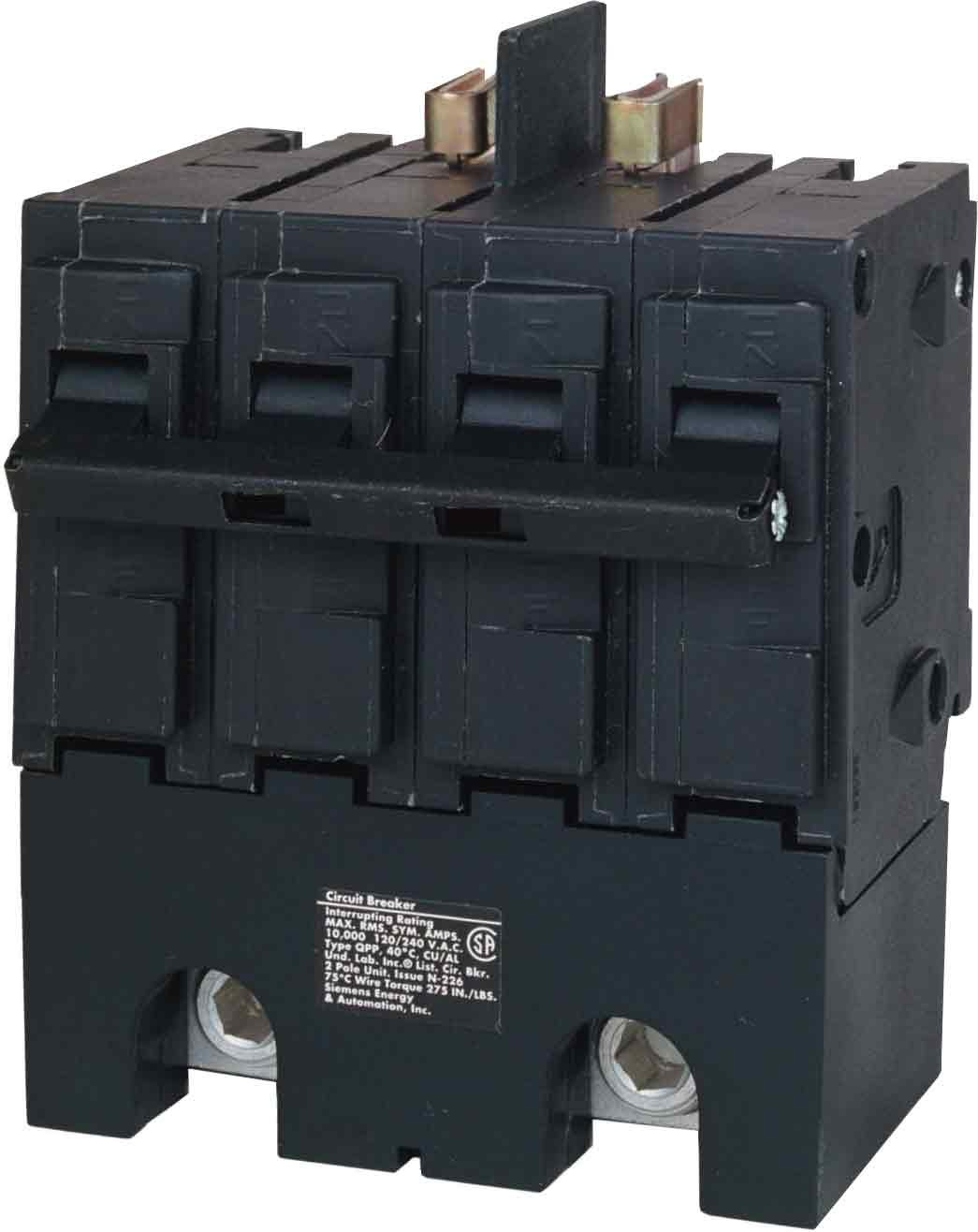 Murray MPP2200 120/240-Volt 4-pole type MPP 200-Amp Main Breaker