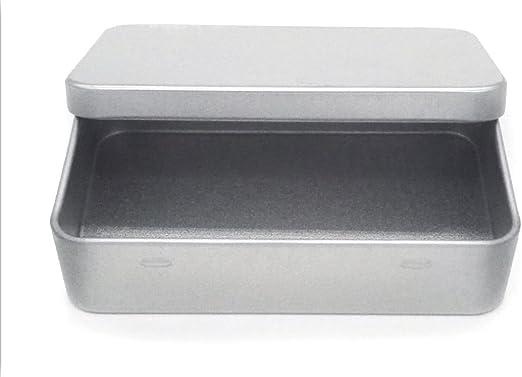 dingsheng 94 x 22 x 59 mm pequeña caja de lata Metal Bisagra Parte ...