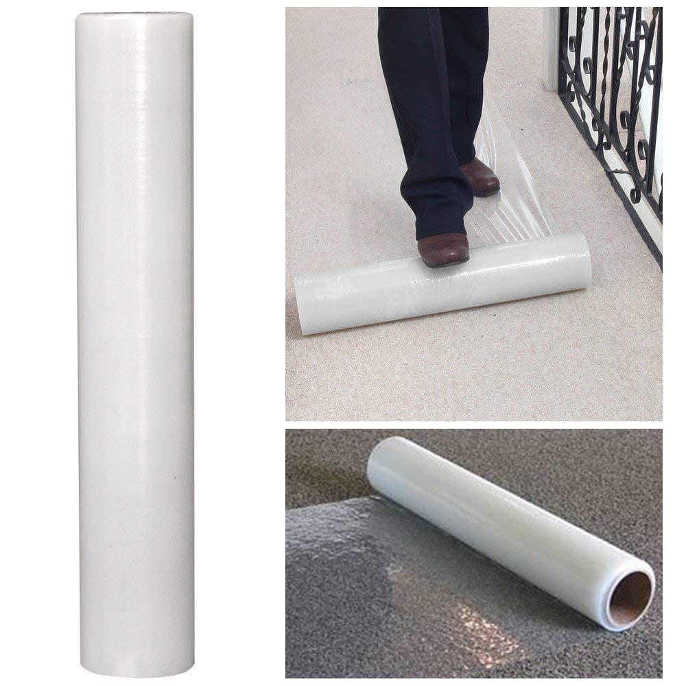 Teppich Schutz Folie selbstklebend Streak Bodenschutz Nr 60 cm x 100 m klar