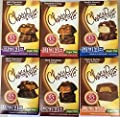 Chocorite Chocolate Value Pack -6 24 Gram Bars-sugar Free-35 Calories Per Piece