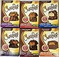Chocorite Chocolate Value Pack -6 24 Gram Bars-sugar Free-35 Calories Per Piece