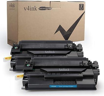 2 PK High Yield 26X CF226X Toner Cartridge For HP LaserJet Pro M402n MFP M426fdw