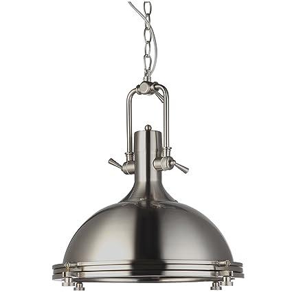 industrial pendant lighting. VONN VVP21031SN Industrial 16\u0026quot; LED Pendant Light,  Lighting, Adjustable Hanging Light Industrial Pendant Lighting R