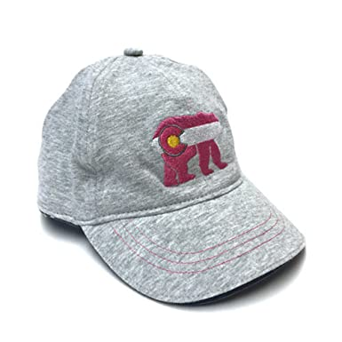 8f28f6713c0 Image Unavailable. Image not available for. Color  YoColorado Colorado  Cubby Bear Baby Girl Pink Hat