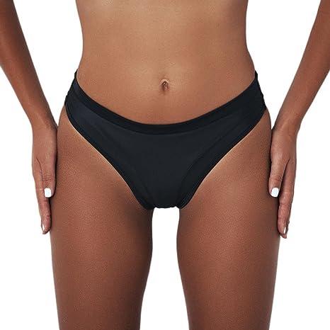 f1ef39a9d dressin Sexy brasileño Bikini parte inferior para mujer V Cheeky Sexy Booty  Solid Classic Ladies tanga
