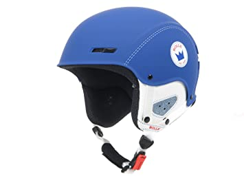 Bolle-Switch azul crown-Casco de esquí, color - azul, tamaño 56