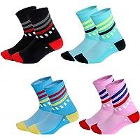 GuaziV Cycling Socks for Men & Women, Breathable Bike Socks Sports Socks Athletic Socks for Running Cycling Basketball…
