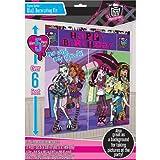 "Amscan Monster High Scene Setter Birthday Party Decorating Kit (5 Pack), 59"" x 65"", Multicolor"