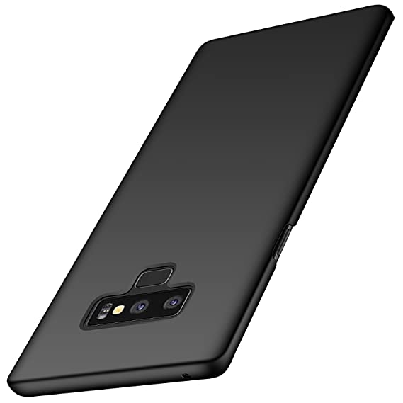 on sale b7faa e25c2 Galaxy Note 9 Case, Arkour Minimalist Ultra Thin Slim Fit Cover with Smooth  Matte Surface Hard Cases for Samsung Galaxy Note9 (2018) - Smooth Black
