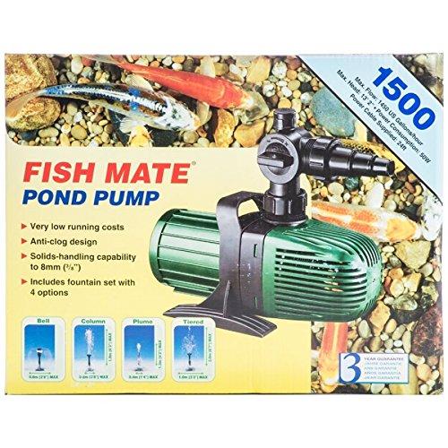Fish Mate Pond Pump 1500 Agricultural Pond