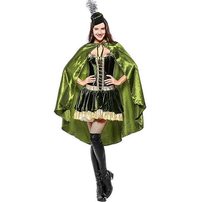 Amazon.com: Traje de cosplay con capucha de Robin para ...