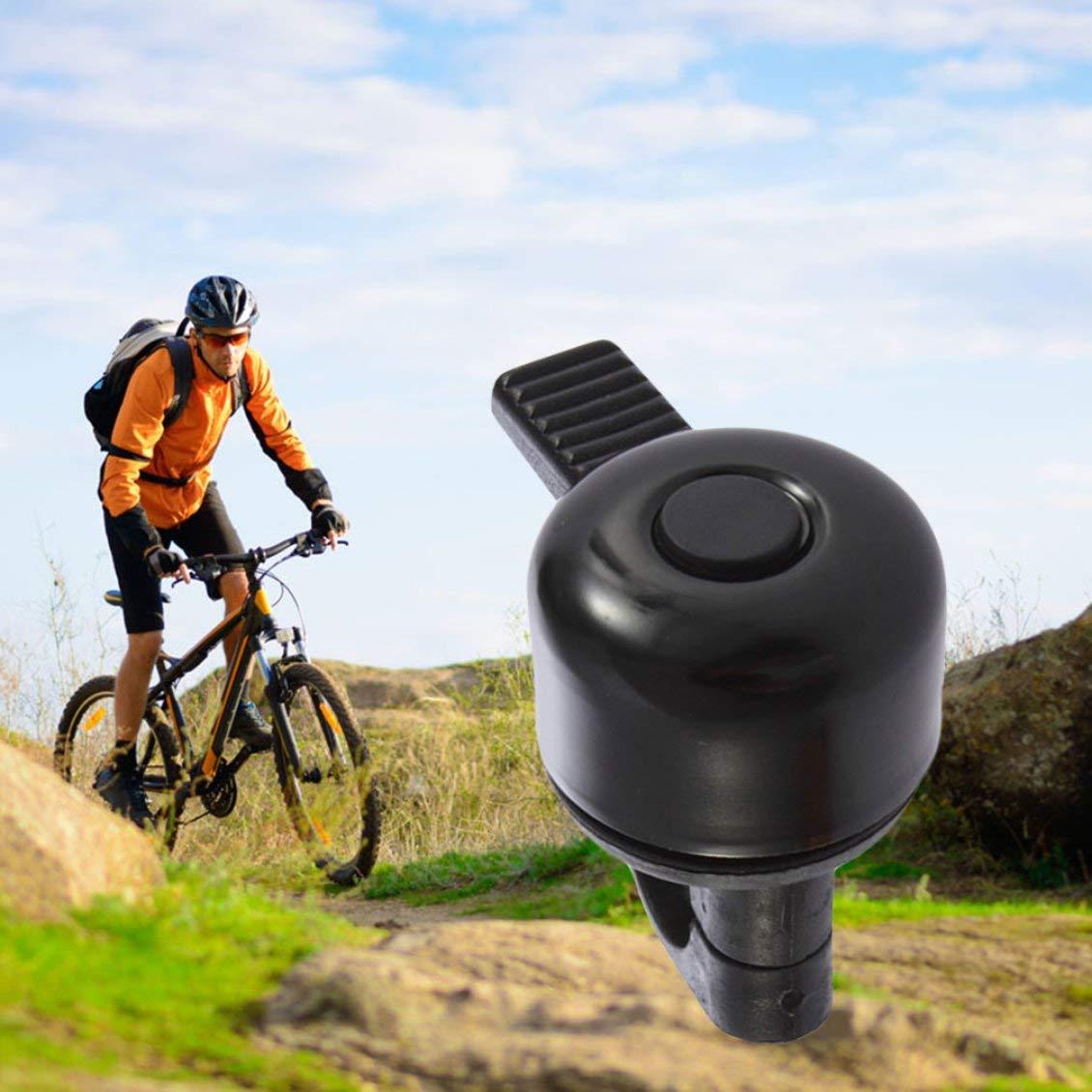 Pgige Nuevo Anillo de Timbre de Metal con Sonido de Campana para Bicicleta