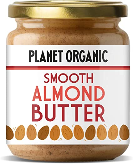 Planet Organic Smooth Almond Butter (Pack of 1): Buy Online at Best Price in UAE - Amazon.ae