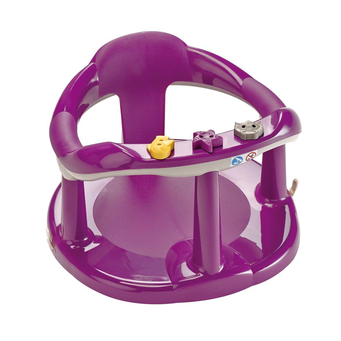 Thermobaby Aquababy Bath Seat Plum/Grey: Amazon.co.uk: Baby