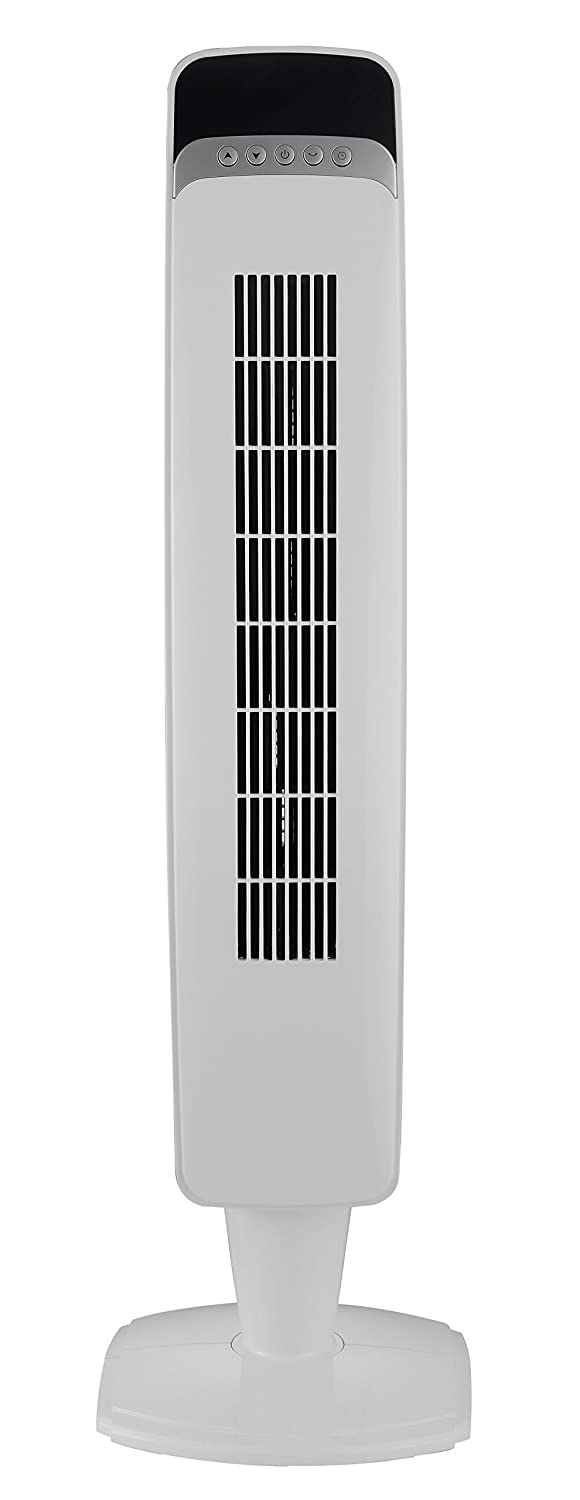 PELONIS 3-Speed Timer Digital Oscillating Tower Fan with Remote Control, 40