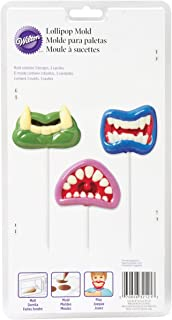 Wilton 2115-2121 Monster Mouth Fun Face Lollipop Mold