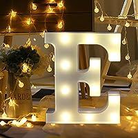 Décoration à la maison,Fulltime®26 A-Z Alphabet LED Light Lettres En Plastique Lights Debout Suspendu Pour Weding