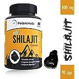 Potentveda Shilajit extract Gold Plus Strength & Stamina for Men - 90 capsules (Pack of 1)