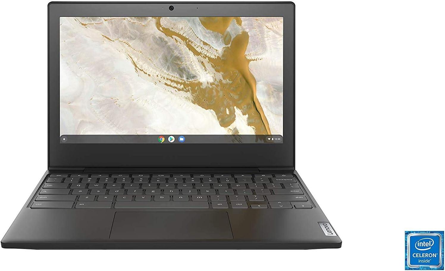 """Lenovo IdeaPad 11.6"""" HD Intel N4020 4GB RAM 32GB eMMC Webcam BT Chrome OS (Renewed)"""