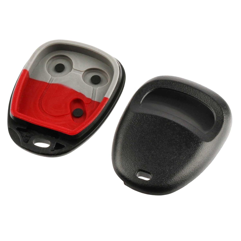 Shell Case Pad fits 16245100-29 16207901-5 1996 1997 1998 1999 2000 2001 2002 Keyless Entry Remote Key Fob