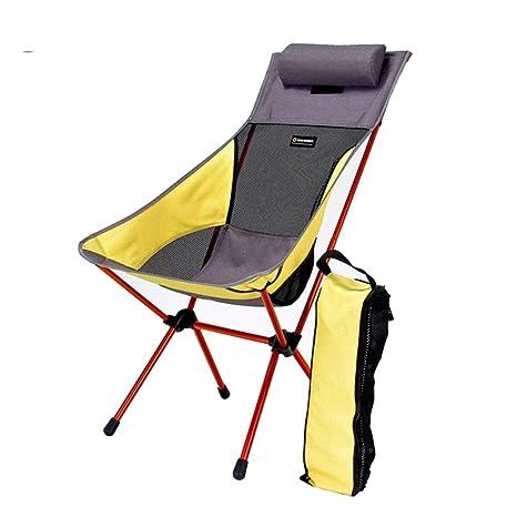 G-YL Silla para Acampar al Aire Libre Plegable Silla de ...