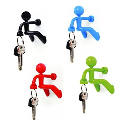 Captivating Diageng Key Pete Strong Magnetic Key Holder Hook Rack Magnet   (2 Pack,  Random Great Ideas
