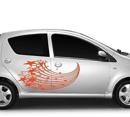 PEGATINA para coche con diseño de tatuaje de estrellas fugaces ...