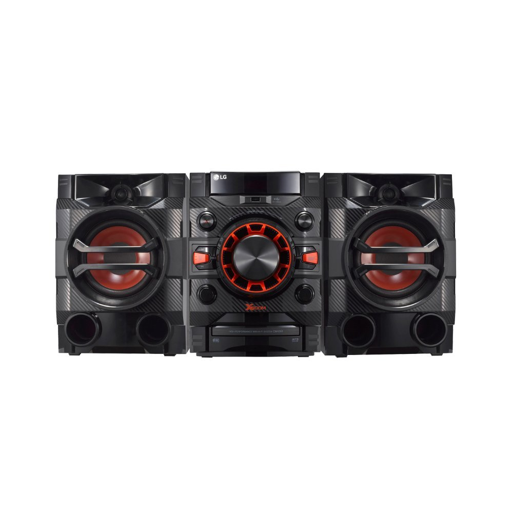 LG LOUDR CM4360 230 W Home Audio System with Bluetooth, CD, Radio Boom Box – Black