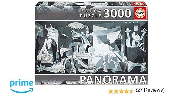 Educa Borrás 11502 - 3000 Guernica Pablo Picasso: Amazon.es: Juguetes y juegos