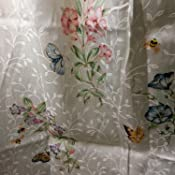 Amazon Com Lenox Butterfly Meadow 20 By 30 Bath Rug