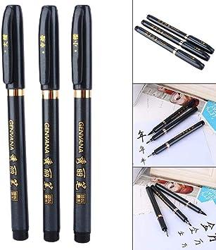 Chinese Japanese Calligraphy Shodo Brush Ink Pen Writing Painting Tool Craft EW