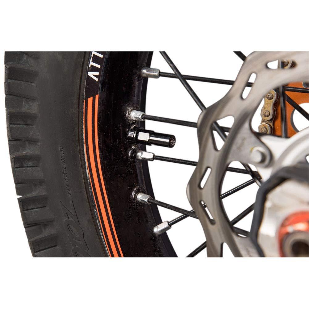Tusk Rim Lock Nut/Spacer Kit Black - Fits: Honda CRF250F 2019