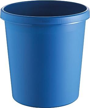Papierkorbthe green german rot Helit H6405825 1 St/ück 18 Liter aus Recycling-Kunststoff Blauer Engel zertifiziert