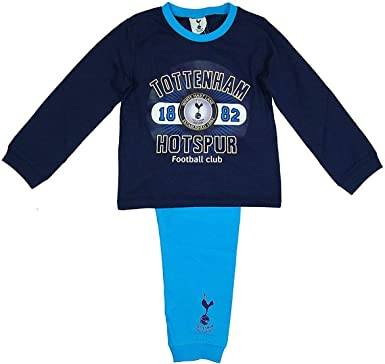 Boys Tottenham Hotspur Fc Spurs Toddler Cotton Pyjamas Sizes From 12 Months 4 Years Blue Amazon Co Uk Clothing