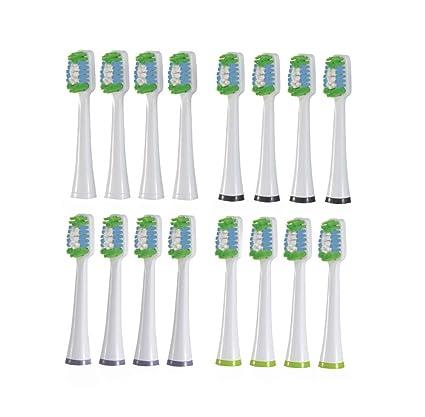 nevadent 16 Cabezales de recambio para cepillo para nszb 3.7 A1
