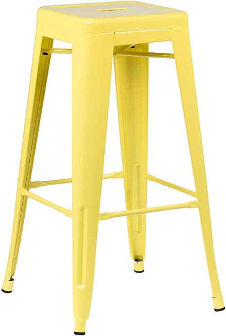 Image ofSKLUM Taburete Alto LIX Acero Amarillo - (Elige Color)