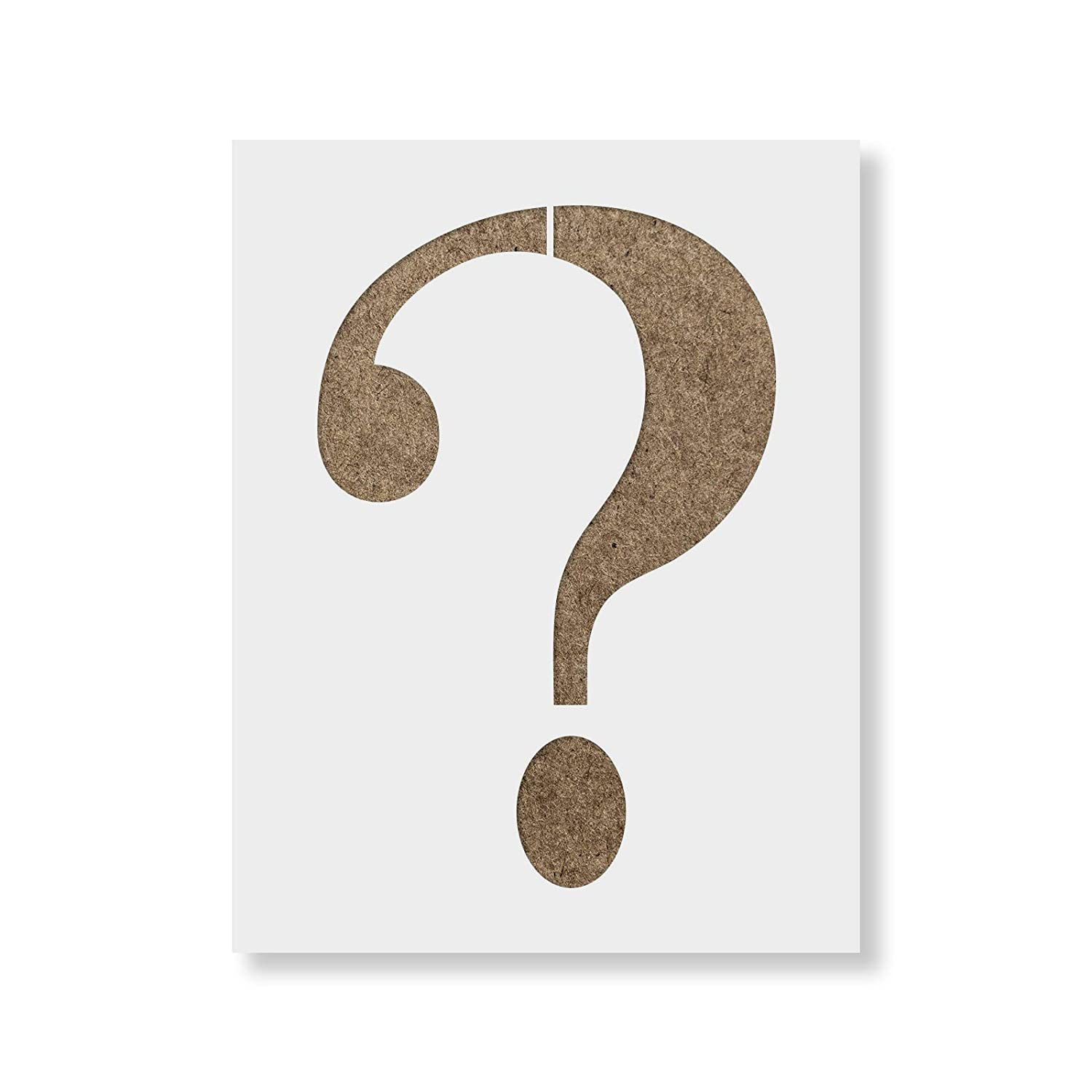 Question Mark Stencil Template Reusable With Multiple Sizes Available Jpg 1500x1500 Riddler Costume