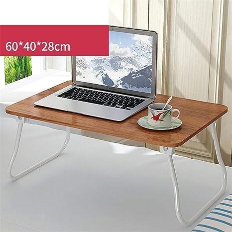 Exing Mesa portátil Ordenador portátil Mesa Plegable portátil Pequeña Mesa para Acampar Al Aire Libre Ligero