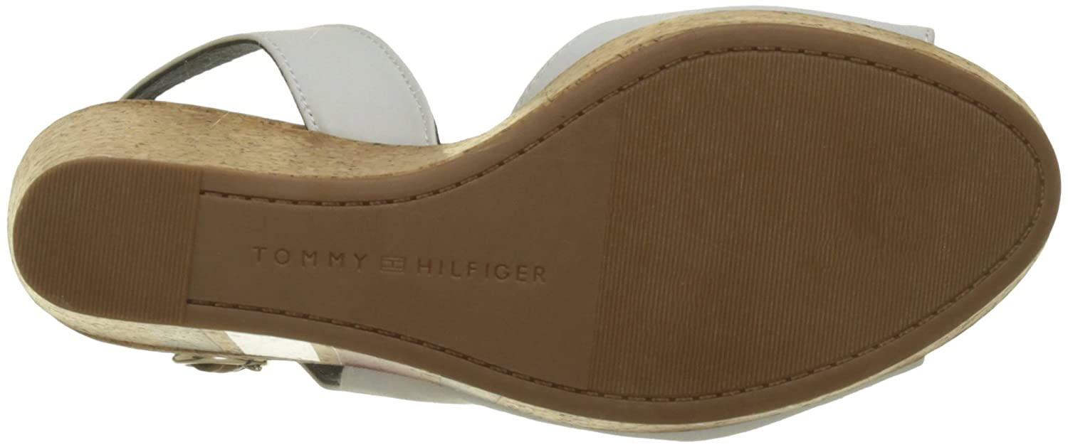 828e2576d3f4 Tommy Hilfiger Women s Wedge with Printed Stripes Espadrilles