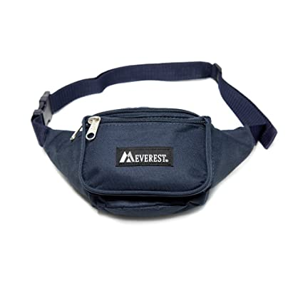 36e47ac9471b Everest Signature Waist Pack - Standard, Navy, One Size