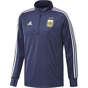 Amazon.com : adidas 2018-2019 Argentina Training Top (Raw ...